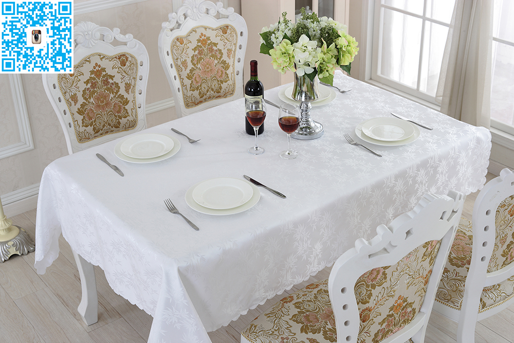 Table Cover White Linen Tablecloths Rectangular Round For Banquet Wedding  Party Decoration 3d Printing(China