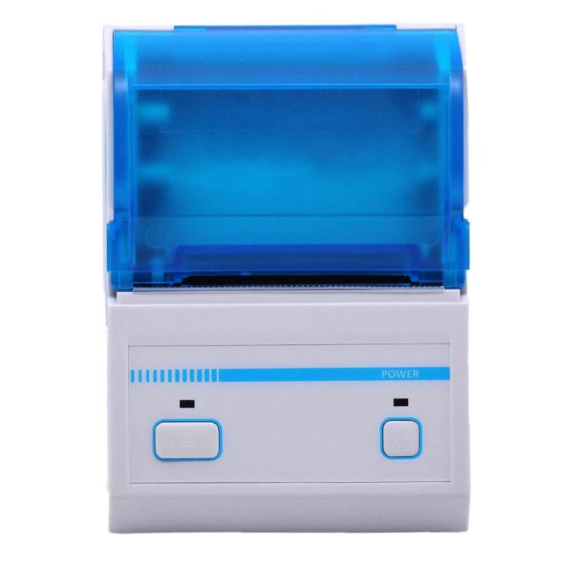 Portable Mini Printer Bluetooth Thermal Printer Pos Receipt Printer Bill Ticket Printer for iOS Android Bluetooth USB Interface 58mm mini bluetooth printer android thermal printer wireless receipt printer mobile portable small ticket printer