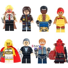 Single Classic Movie Figures Constantine Doctor Who She-Ra Princess HellBoy building blocks models bricks toys for children kits(China)