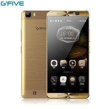 Оригинал Gfive L3 5.5 дюймов Android 6.0 MT6580M Quad Core 2 ГБ + 16 ГБ Смартфон Двойная Камера Sim Мобильный телефон 5000 мАч Батареи