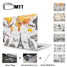 MTT Print Case For Apple Macbook Air 11 13 Pro 13 15 Retina With Touch Bar Hard Cover for mac book new 12 inch Laptop Sleeve