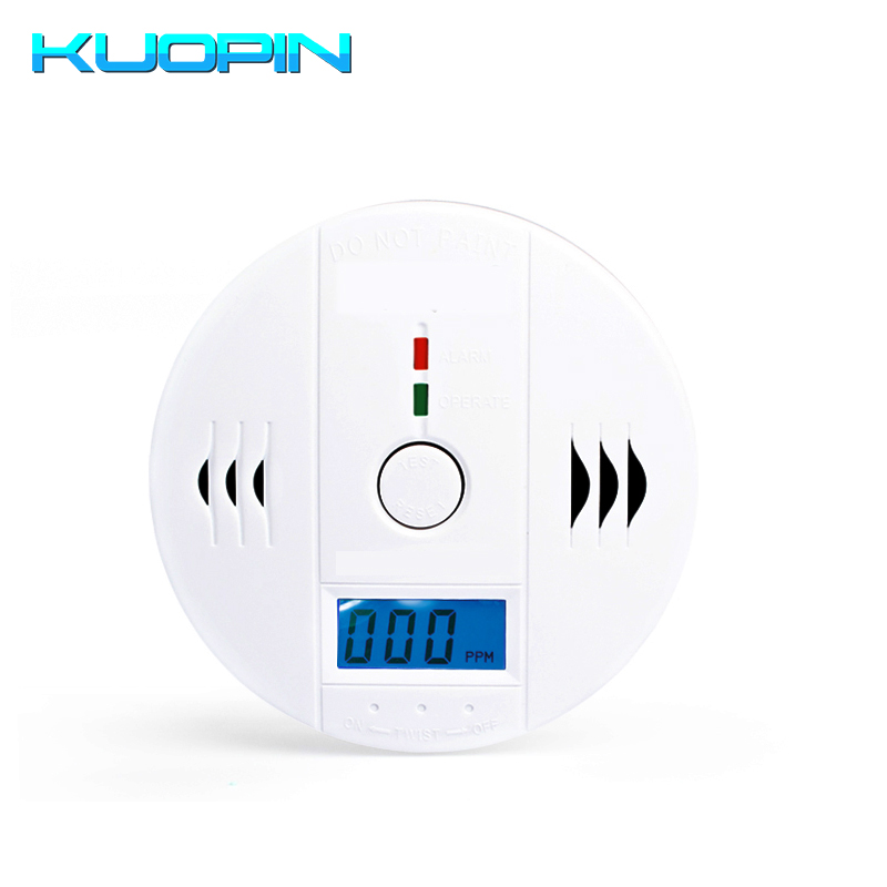 Fire Protection Industrious Home Security 85db Warning High Sensitive Lcd Display Photoelectric Stand Alone Co Gas Sensor Carbon Monoxide Detector Sensor Can Be Repeatedly Remolded. Security & Protection