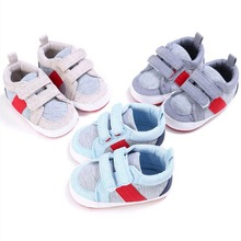 0 18M Infant Toddler Newborn Baby Lovely Soft Canvas Sole Sports Running Sneakers Walking Shoes Prewalkers