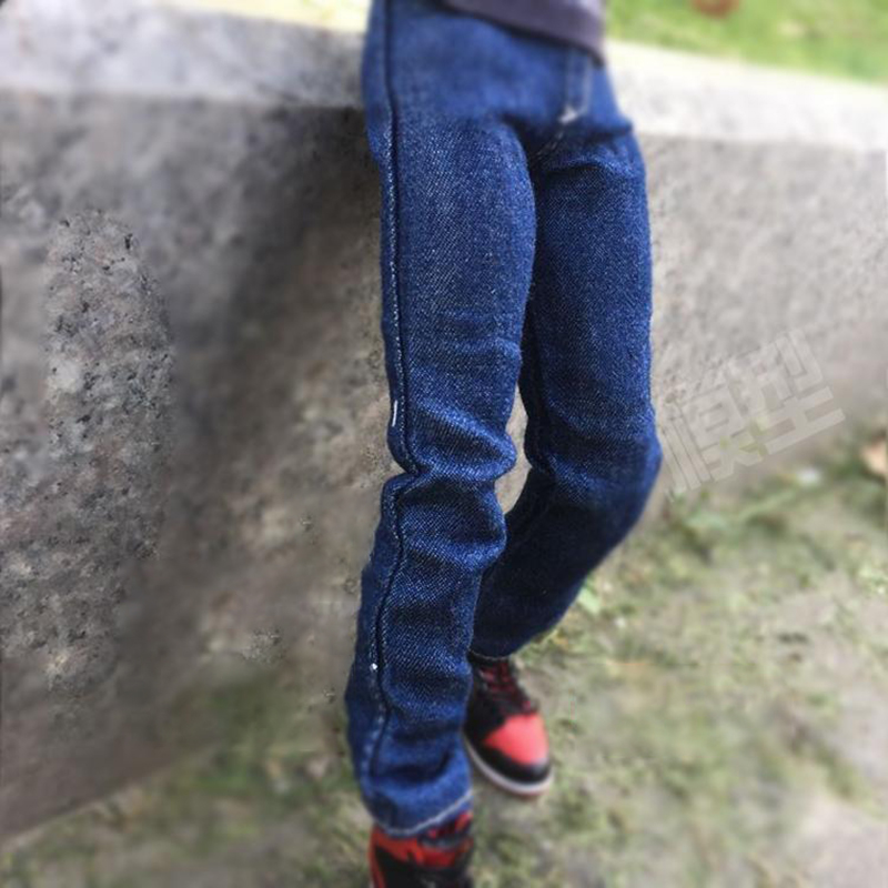 1/6 Scale ZYTOYS Men/Male Blue Jeans With Washing Effect Clothing Fit 12 Inch Action Figure Hot Toys Body Accessories