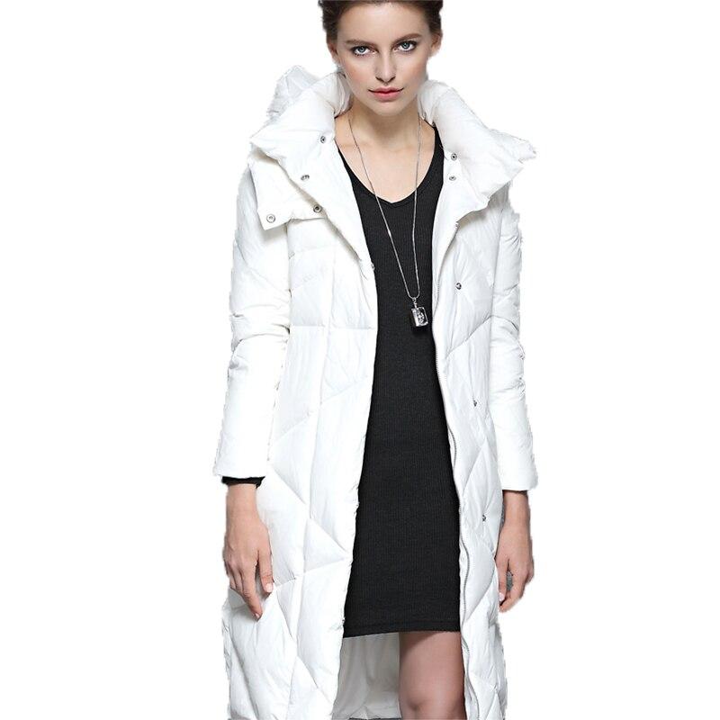 2018 Hohe Qualität Marke Europäischen Syle Daunenparka Langen Dicken Luxus 90% Weiße Ente Daunenmantel Weibliche Winter Jacke Frauen Wuj0961 Novel (In) Design;