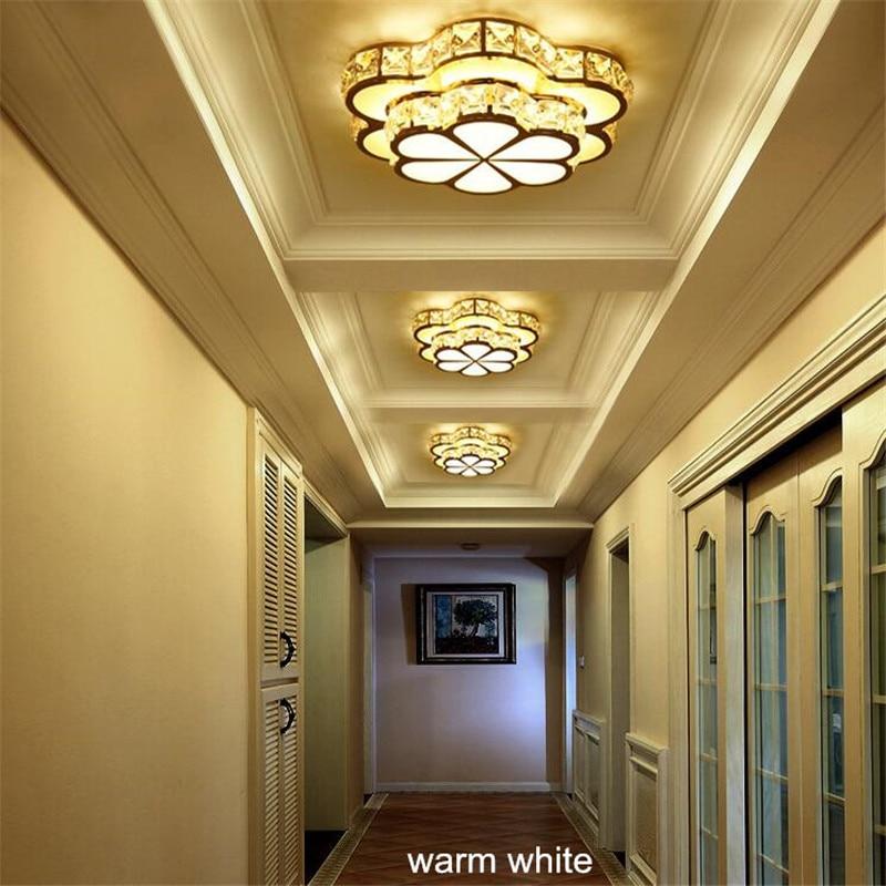 HTB1uP4 XLvsK1RjSspdq6AZepXaw Chandelier Ceiling Light | Crystal Ceiling Lights | Flower Design Chandelier Lamps Gold Led Plafonnier For Aisle Lustre Corridor Balcony Ceiling Lamparas Home Light 001