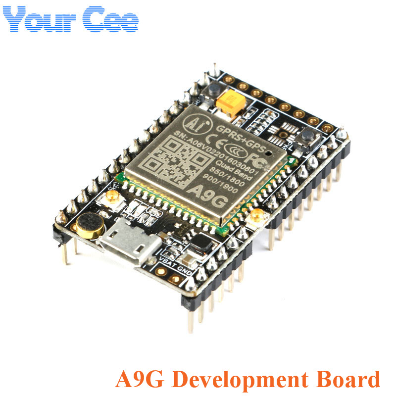 1PC GPRS GPS Module A9G Core Board Module Pudding Development Board SMS Voice Wireless Data Transmission IOT With Antenna GSM