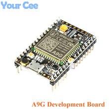 1pc gprs gps módulo a9g placa de núcleo módulo pudim placa desenvolvimento sms voz transmissão dados sem fio iot com antena gsm