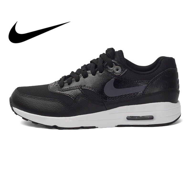 Original Et Authentique NIKE Air Max 1 Low Top DMX chaussures de course de Femmes Sneakers Nike chaussures pour femmes En Plein Air de Marche confortable 881104