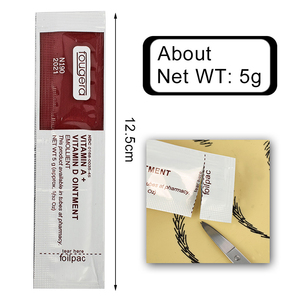 Image 4 - Fougera ויטמין במשחת & D אנטי צלקת קעקוע טפול עוקב קרם עבור קעקוע גוף אמנות קבוע איפור קעקוע ספקי