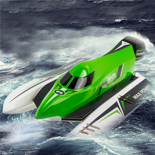 Water toy 45km/h High Speed RC Racing Boat WL915 2.4G 4ch Remote Control RC boat Brushless Motor Water-Cooling System VS FT012