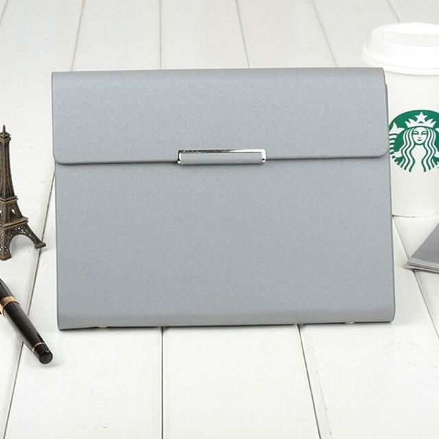 Logo Custom Business Loose Leaf A5 Notebook Folder Diary Women Office Supplies Leader Spiral Binder Free