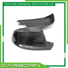 цена на For BMW X1 E84 2011-2013 X3 F25 2010-2013 Add On Style Carbon Fiber Body Side Rear View Mirror Cover