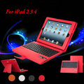 Factory Direct Sale 2 in 1 Removeable ABS Keys Wireless Bluetooth Keyboard PU Leather Stand Case Holster For iPad Air 2