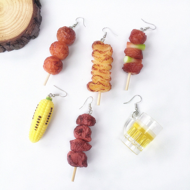 Barbecue Earrings