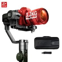 В наличии! Zhiyun кран 2 3 оси гироскопа стабилизатор Ручные стабилизаторы с реальным временем Приборы непрерывного изменения фокусировки камеры Управление 3.2 кг для DSRL Камера