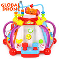 Baby Toy Musical Activity Cube Play Center with Lights,15 Functions & Skills Learning & Educational Toys For Kids