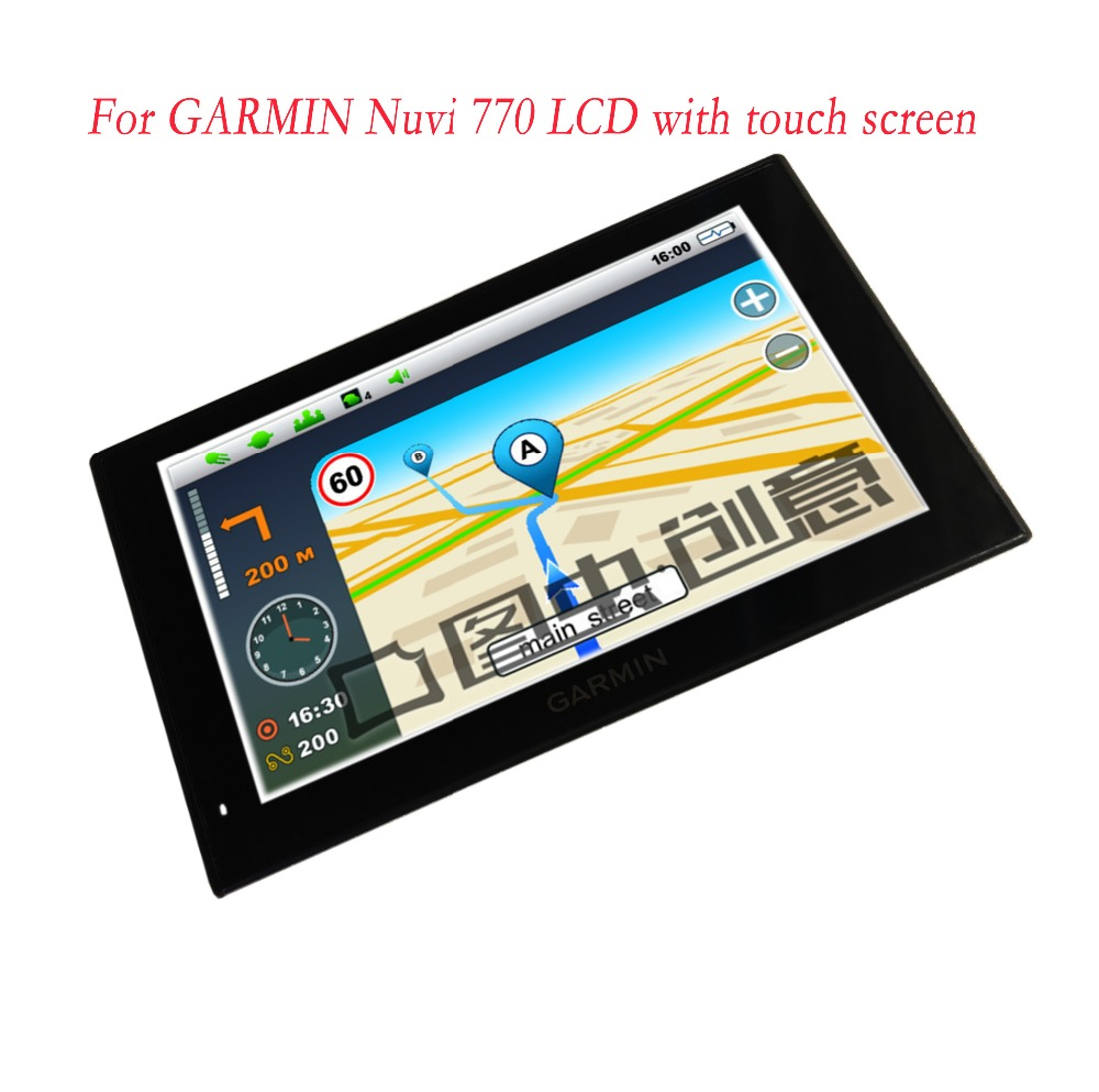 Original 7inch LCD Display +Touch Screen For GARMIN Nuvi 770 GPS LCD Screen Digitizer replacement ZD070NA-03K free shippingOriginal 7inch LCD Display +Touch Screen For GARMIN Nuvi 770 GPS LCD Screen Digitizer replacement ZD070NA-03K free shipping