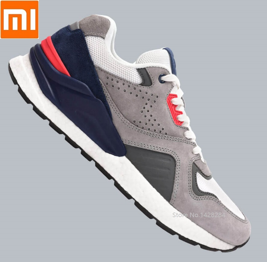 Xiaomi mijia Men classic retro Running shoes ETPU high elastic Slow shock Breathable Sport Sneaker