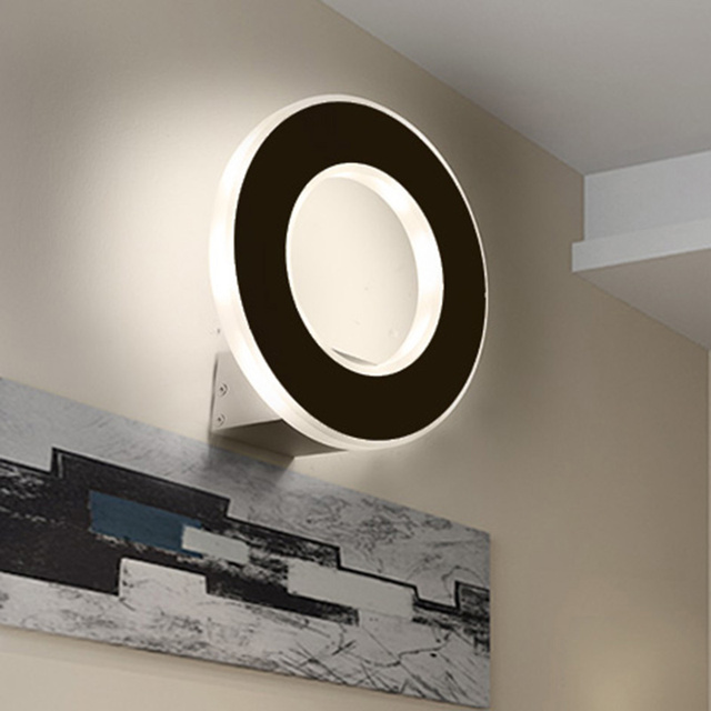 modern wall mounted light for living room foyer bed dining room ...