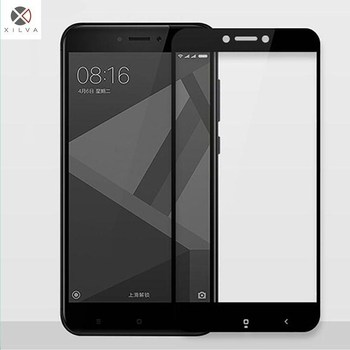 For Xiaomi Redmi Note5 Pro Screen Protector Glass Toughened Film 9H Black White Luxery Full Coverage Glass