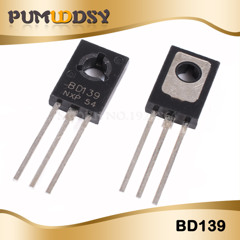 10PCS/Lot BD139 D139 TO-126 1.5A 80V NPN IC