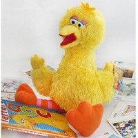 Sesame Street Elmo ZOE Big Bird GROVER Macias Stuffed Plush Toys Boneca para o Presente