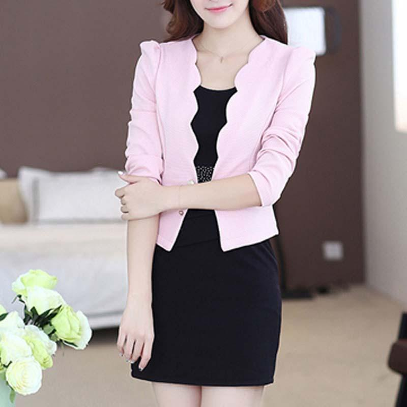 Autumn Spring OL Women Dresses Suits Fashion Office Women Workwear Blazer And Dress Suit For Female