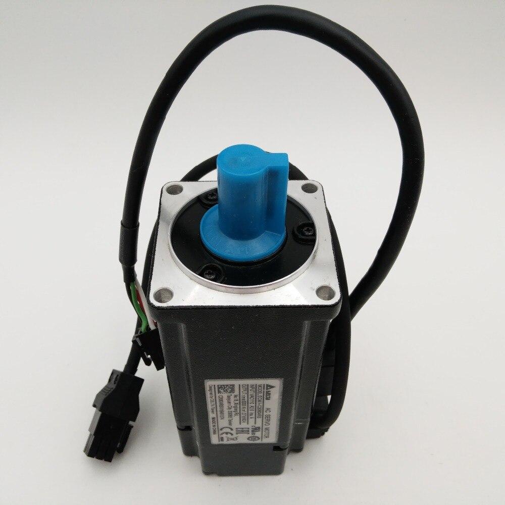 Delta 220V 400W AC Servo Motor ECMA-C20604RS 1.27NM 2.6A 60mm 3000r/min with Keyway Oil Seal New Original