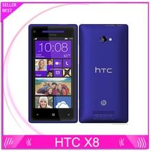 8X Original Unlocked HTC 8X C620e Windows Phone 3G 4G Dual-core 8MP Camera 16G Internal Free Shipping