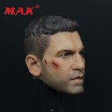 купить New 1:6 Scale Daredevil Punisher Jon Bernthal Head Sculpt as Battle Damage Version Model fit 12