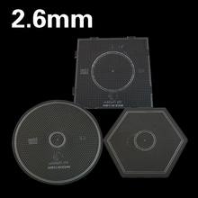 3PCS Set 2.6mm Hama Beads Boards Template Patterns Pegboards 15cm Iron Fuse Beads Templates Tangram Jigsaw Board