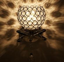 8pcs/lot E27 BASE Wall Lamp Bedroom Stair Lamp Crystal Wall Light No Bulb Wall Light Silver/Gold Led Lamp For Bedroom Decor