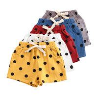 Summer Children Shorts Cotton Shorts Boys Girls Brand Shorts Toddler Panties Kids Beach Short Sports Pants Baby Clothing 1 5Y