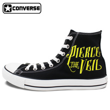 83815546b672 Mens Womens font b Converse b font All Star Pierce the Veil Design Hand  Painted Shoes
