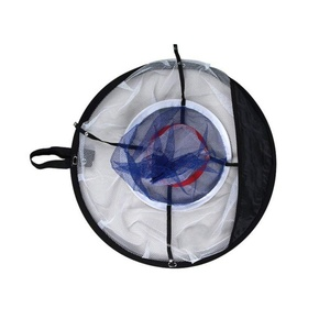 Image 2 - Pitching Golf Lascar Lascar Net Prática de Golfe Indoor Ao Ar Livre quente Gaiolas Prática Esteiras Fácil Net Golf Training Aids