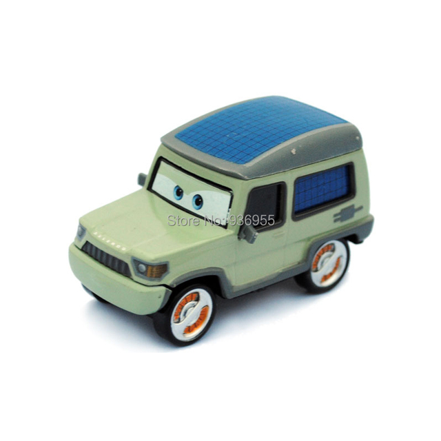Free Shipping  Pixar cars 2 Diecast  Miles AXELROD Metal Toy Car Loose Racing toys 1:55