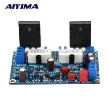 AIYIMA 100 ワット 2SC5200 + 2SA1943 オーディオアンプボード Hifi モノラルチャンネルアンプデュアル DC35V スピーカーホームシアター Diy