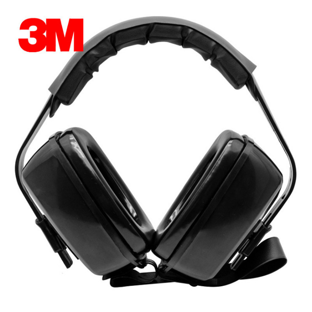 Authentic 3M1427 Head mounted Soundproof Earmuffs Anti noise Shooting Earmuffs Learning Sleep Ear Protectors Protective Earmuffs