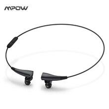 Mpow MBH31B Magneto de Fone De Ouvido Sem Fio Bluetooth 4.1 Versão Wearable com Sete Horas Falando/Tempo Da Música para IOS/Android/janelas