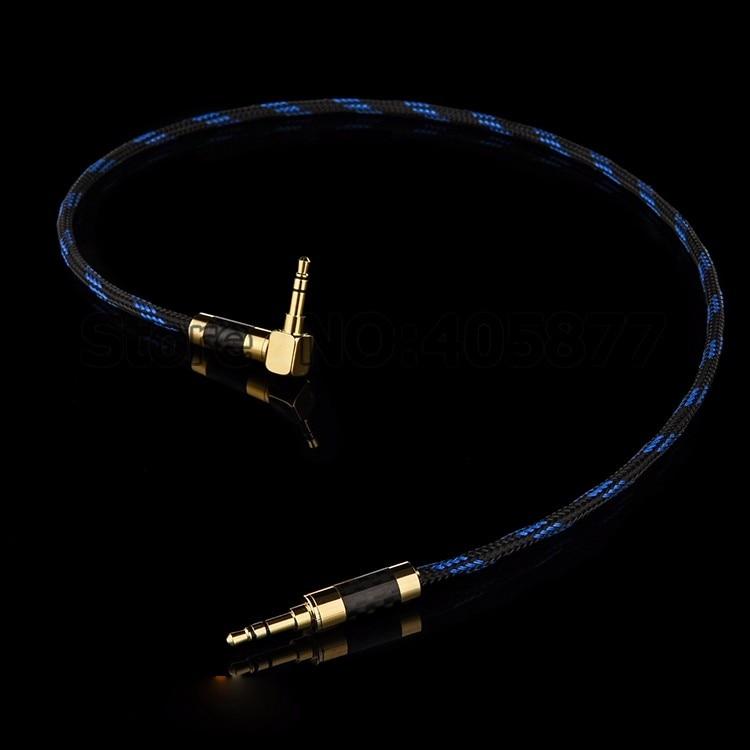 1 м 3,5 мм 1/8 штекер 3,5 мм Прямоугольный штекер стерео аудио видео кабель Запись аудио кабель hifi аудио кабель