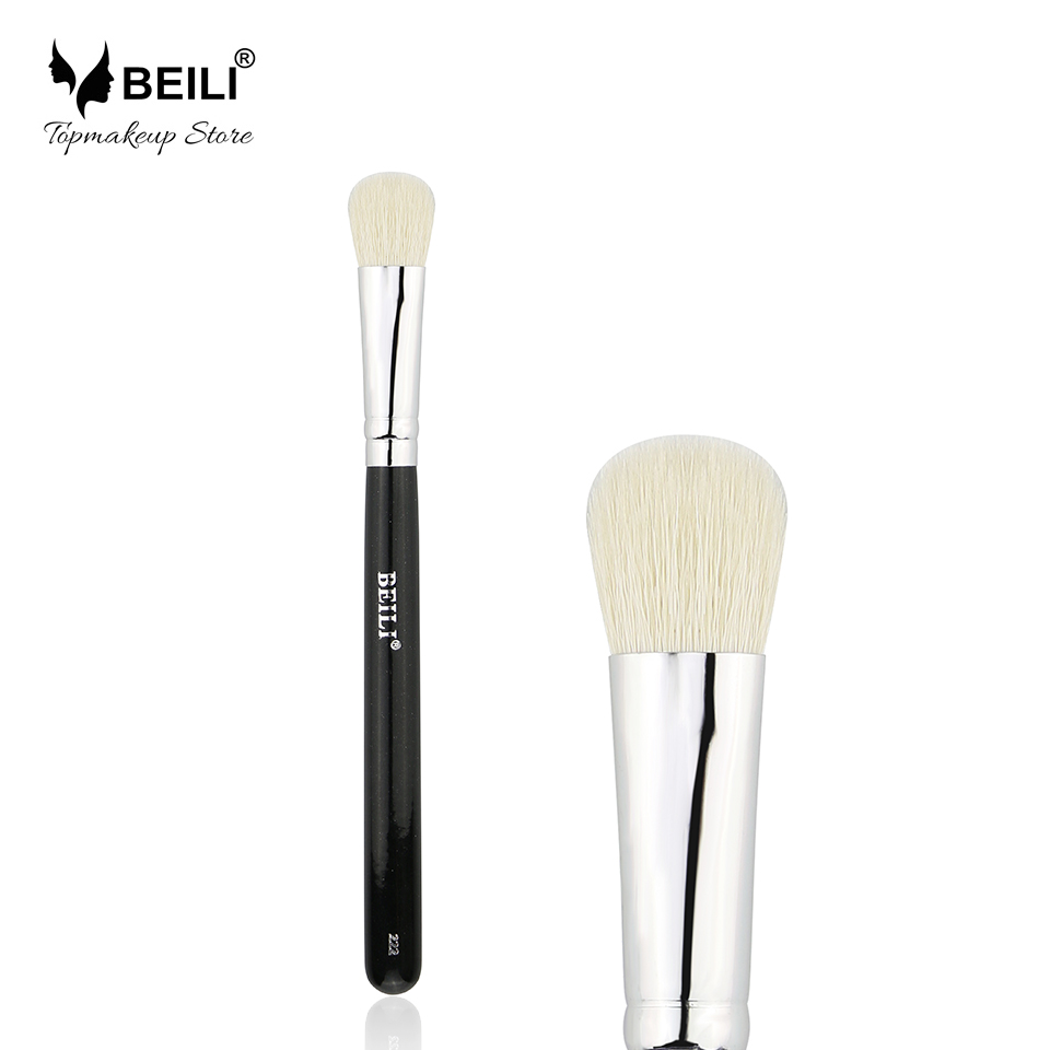 BEILI 222 Single Black Natural Goat Hair Eye Blender Smoky effect tool Cosmetic Makeup Brushes