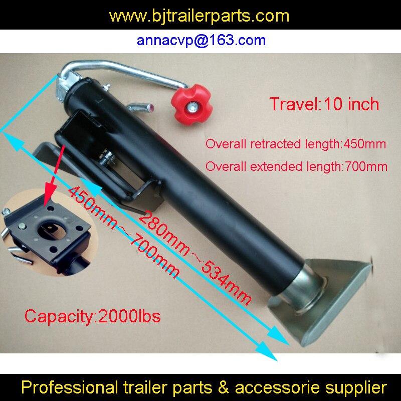 2000lbs, 10 inch travel, quality jockey wheel, trailer jockey wheel, trailer jack, jack stand,top wind