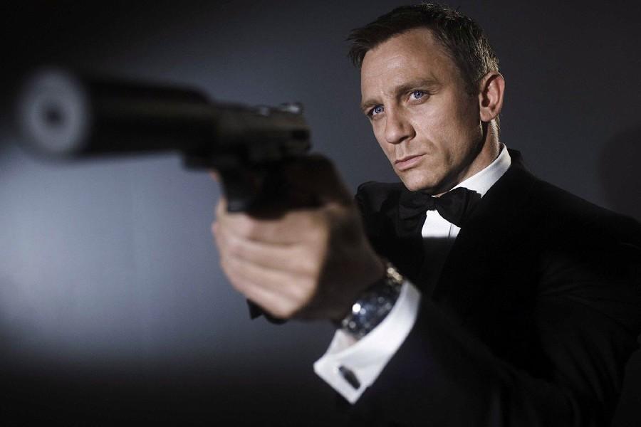 ₩DIY marco Daniel Craig con pistola 007 Bond movie Películas cartel ...
