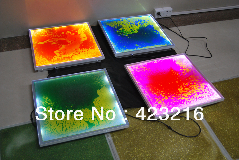 Led Lighting Liquid Motion Fluding Floor Creative Interior