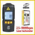 Digital Laser Photo Tachimetro Senza Contatto A CRISTALLI LIQUIDI Tach RPM Misuratore di Velocità di Rotazione Rivelatore di Larga Misura GM8905-BENETECH