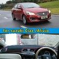 Dashmats-car styling acessórios do carro tampa do painel para Suzuki Ciaz Alivio 2014 2015 2016 rhd