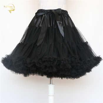 Black Fashion Ball Gown Underskirt Swing Short Dress Petticoat Lolita Petticoat Ballet Tutu Skirt Rockabilly Crinoline Boneless - DISCOUNT ITEM  25% OFF All Category