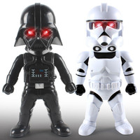 Star Wars The Last Jedi Force Awakens Figures Black Warrior Darth Vader Stormtrooper Action Figure Luke
