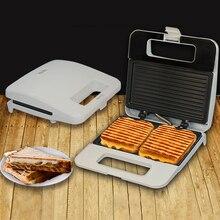 Электрический яйцо сэндвич-мейкер Сковорода-гриль выпечки плиты тостер Многофункциональный антипригарный вафельный завтрак песочница машина